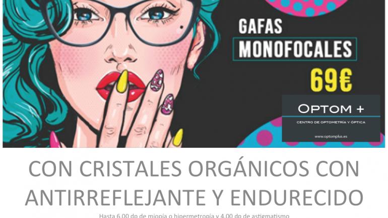 GAFAS MONOFOCALES 69€