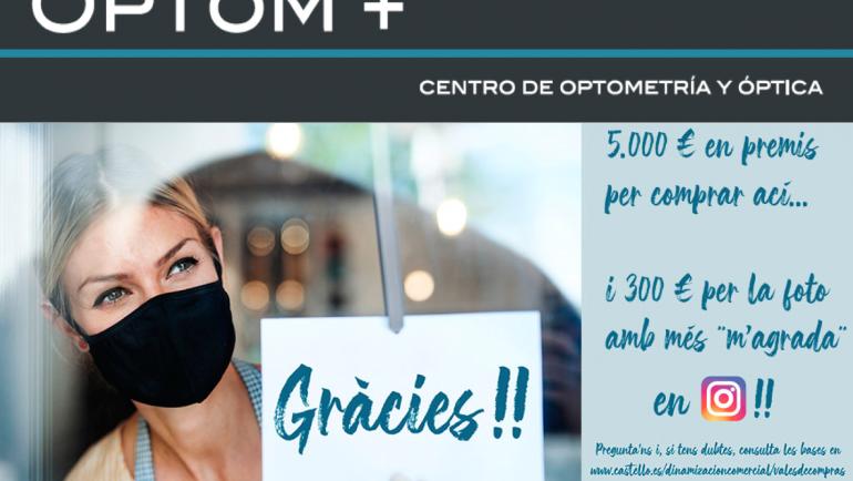 'Gràcies!!' amb OPTOM +